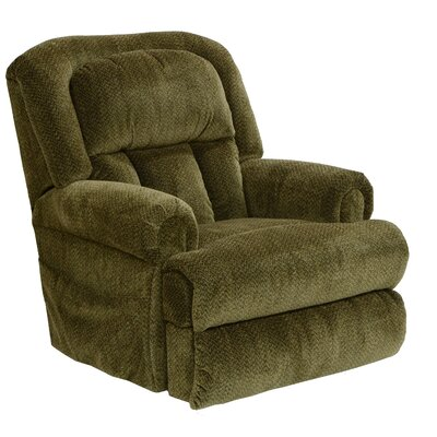 Burns Lay Flat Power Lift Assist Recliner Body Fabric: Basil