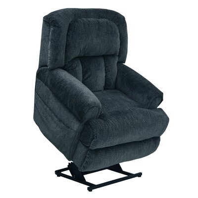 Burns Lay Flat Power Lift Assist Recliner Body Fabric: Element