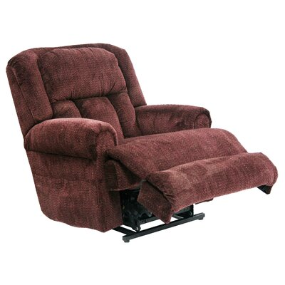 Burns Lay Flat Power Lift Assist Recliner Body Fabric: Vino