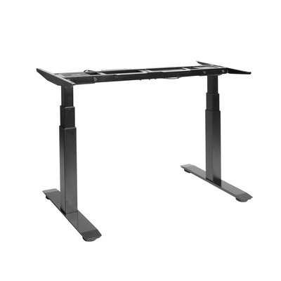 Airlift� 50.54 H x 23.63 W Desk Base Finish: Black