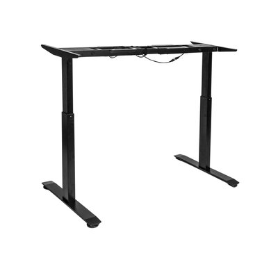 Airlift� 47.4 H x 23.63 W Desk Base Finish: Black