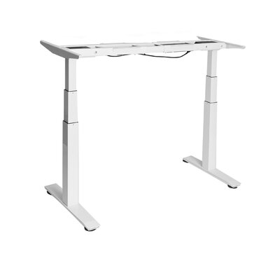 Airlift 50.4 H x 23.6 W Desk Base Finish: White