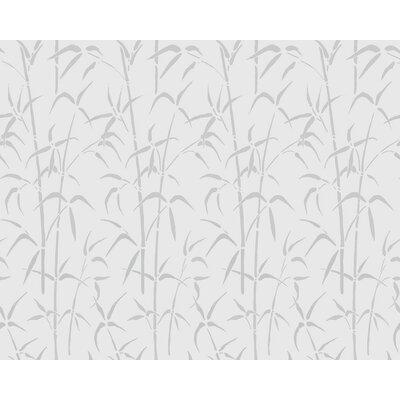Bamboo Static Cling Window Film 338-0023