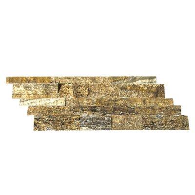 Random Sized Natural Stone Mosaic Splitface Tile in Alpine