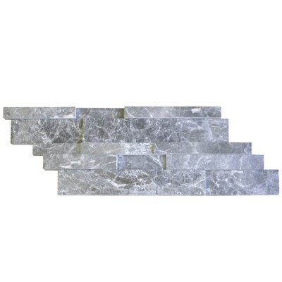 Honed Natural Stone Mosaic Tile in Canto