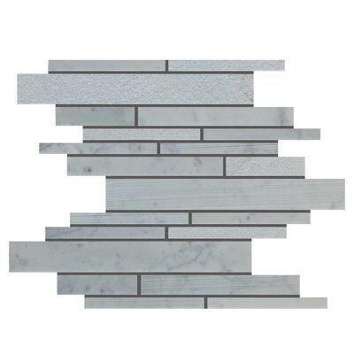 Natural Stone Mosaic Tile in Carrara