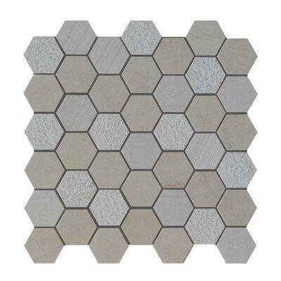 Natural Stone Mosaic Tile in Crema Marfil