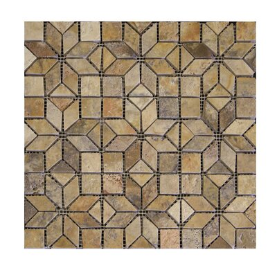 Enigma Tumbled Natural Stone Mosaic Tile in Fantastico