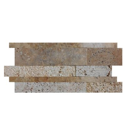 Tumbled Random Sized Natural Stone Mosaic Tile in Fantastico