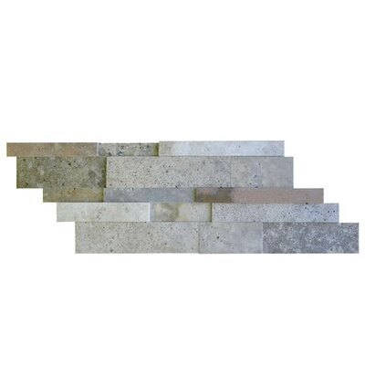 Honed Random Sized Natural Stone Mosaic Tile in Fantastico