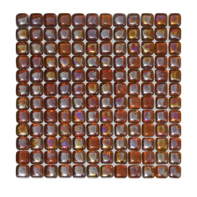 Glass Mosaic Tile in Brown