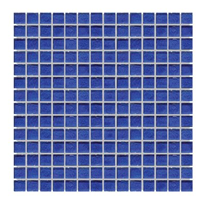 Glass Mosaic Tile in Blue