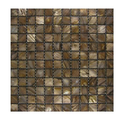 Glass Mosaic Tile in Gold GLASS MOSAICS:GLASS/SH-13