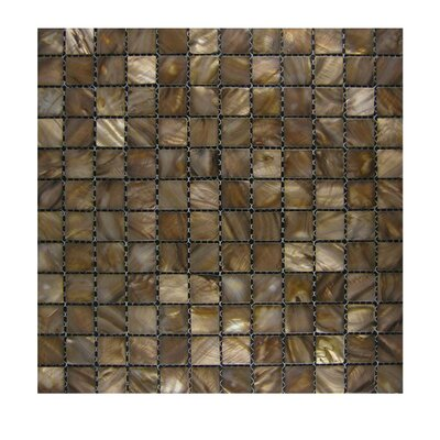 Glass Mosaic Tile in Gold GLASS MOSAICS:GLASS/SHB-20