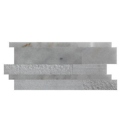 Various Natural Stone Mosaic Tile in Lusso Carrara