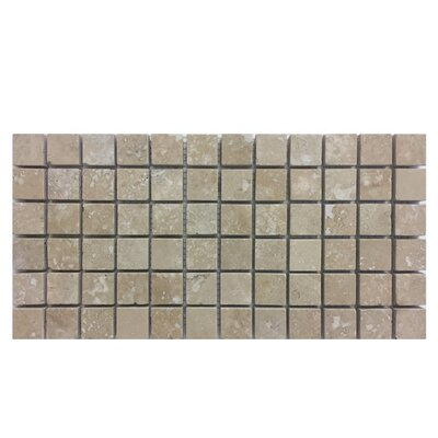 Honed 1 x 1 Natural Stone Mosaic Tile in Nysa