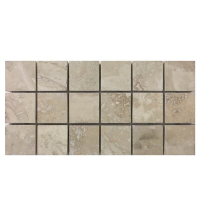 Honed 2 x 2 Natural Stone Mosaic Tile in Nysa