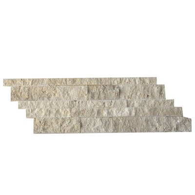 Natural Stone Mosaic Splitface Tile in Beige