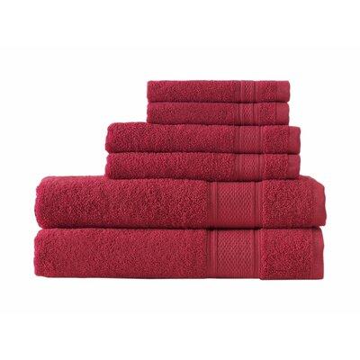 Kinderhook Turkish Traditional 6 Piece Towel Set Color: Beige