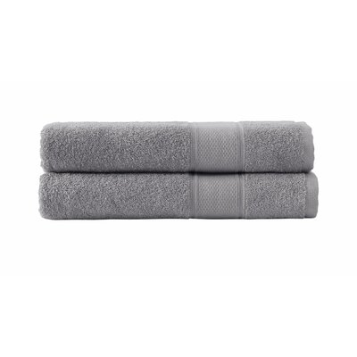 Kinderhook Turkish Traditional Bath Sheet Color: Gray