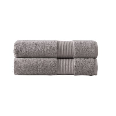 Chelle Turkish Cloud Loft High Absorbency Bath Sheet Color: Sand