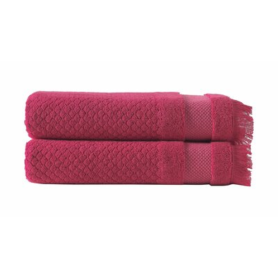 Omeara Bath Sheet Color: Red