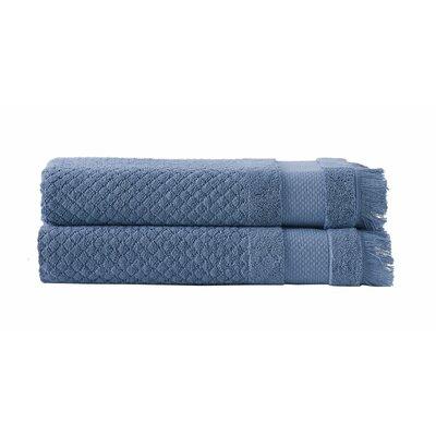 Omeara Bath Sheet Color: Blue