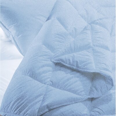 100% Cotton 4 Piece Sheet Set Color: Blue, Size: Twin