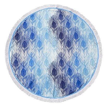 Garza Digital Printed Round Beach Towel