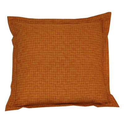 Golden Rod Plaid Sham