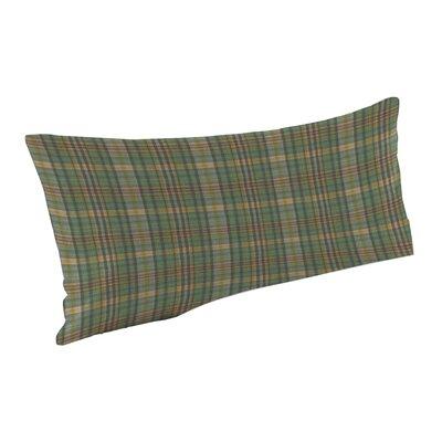 Green Yellow Plaid Pillow Sham