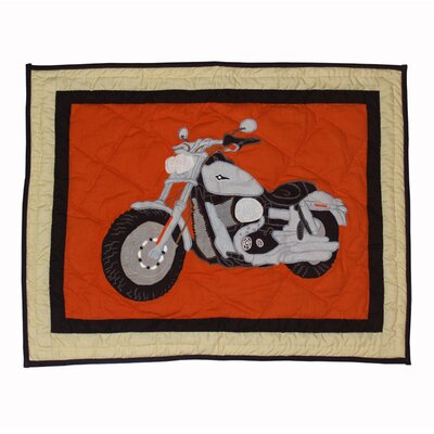 Motor Cycle Pillow Sham