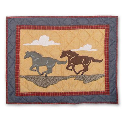 Shadow Rider Pillow Sham Size: Queen