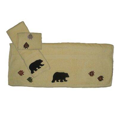 Bears Paw 3 Piece Towel Set