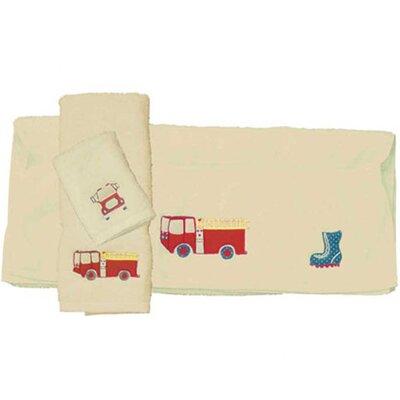 Fire Truck Towel Set