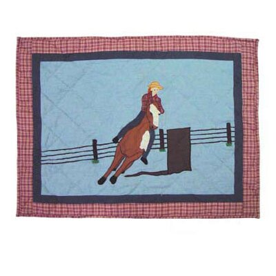 Rodeo Cowgirl Pillow Sham