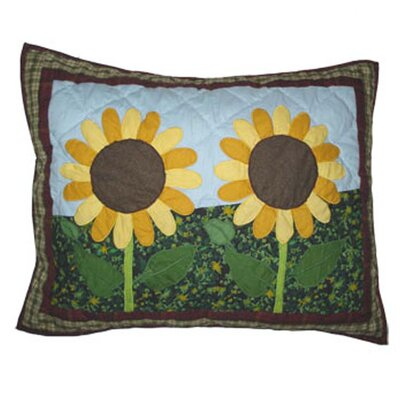Sun Burst Pillow Sham