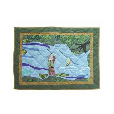 Fly Fishing Pillow Sham