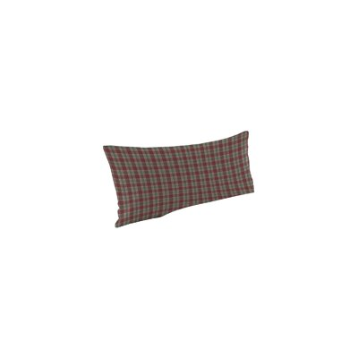 Brown and Green Plaid Pillow Sham