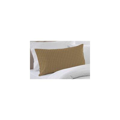 Brown Plaid Pillow Sham