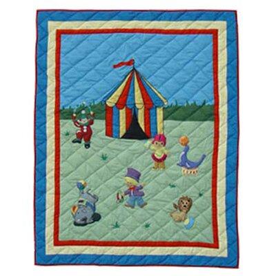 Circus Cotton Throw