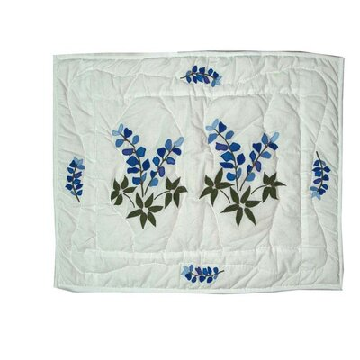 Blue Bonnets Pillow Sham