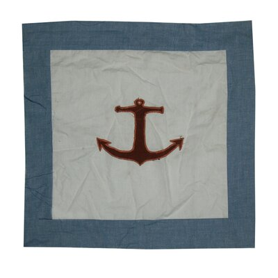 Star of The Sea Cotton Throw Pillow