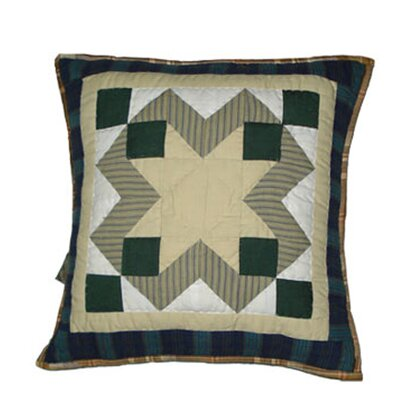 Pioneer Diamond Cotton Throw Pillow