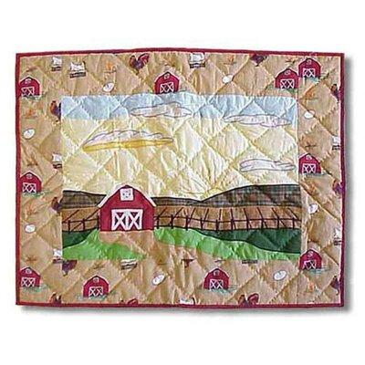 Barnyard Print Pillow Sham