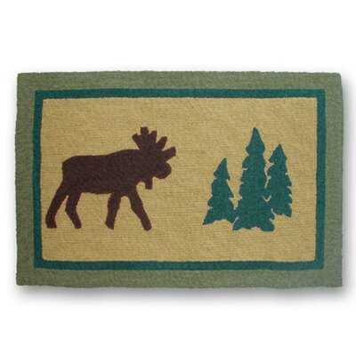 Cedar Trail Novelty Rug Rug Size: Rectangle 2 x 3