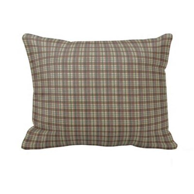 Cream Plaid Pillow Sham