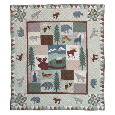 Mountain Whispers Quilt Size: Twin