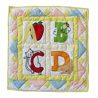 ABC Cotton Throw Pillow