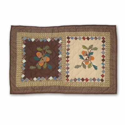 Acres of Acorns Sham Size: Standard